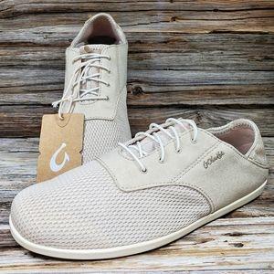 Olukai Waialua Lace Tapa Slip On Shoes Sneakers